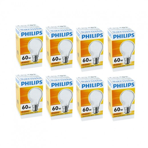 Wholesale - Philips Classictone 60 w B22 Frosted (30 pieces)
