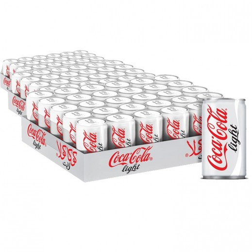 Wholesale - Coca Cola Light Can 150 ml (3 x 30 pieces)