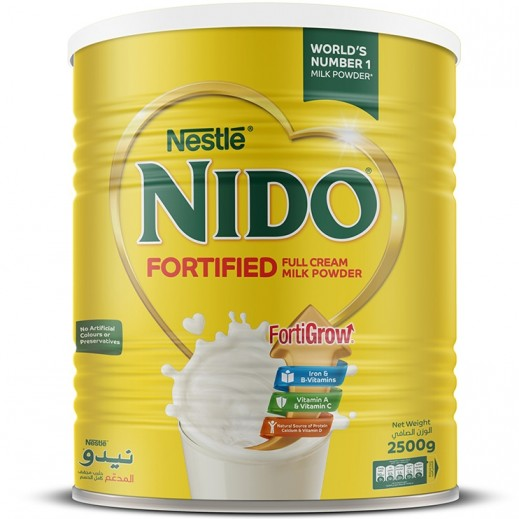 Nestle - Nido Fortified Milk Powder 2500g