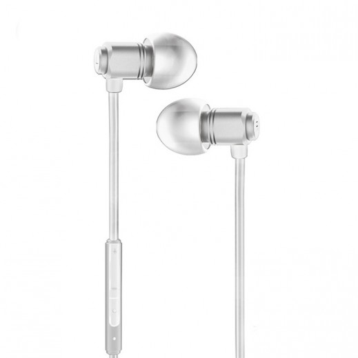 WK Design Wired Earphones 1.2 M – White