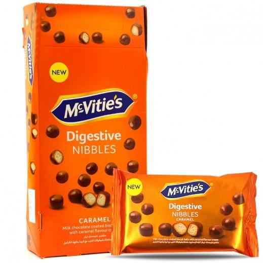 Mc Vities Digestive Caramel Nibbles 12 x 45 g