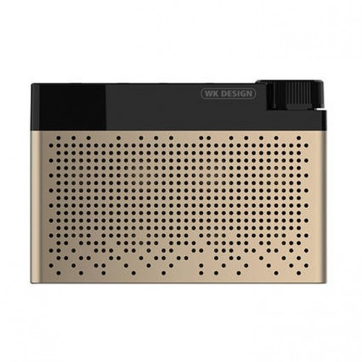 WK Design Bluetooth Speaker - Gold