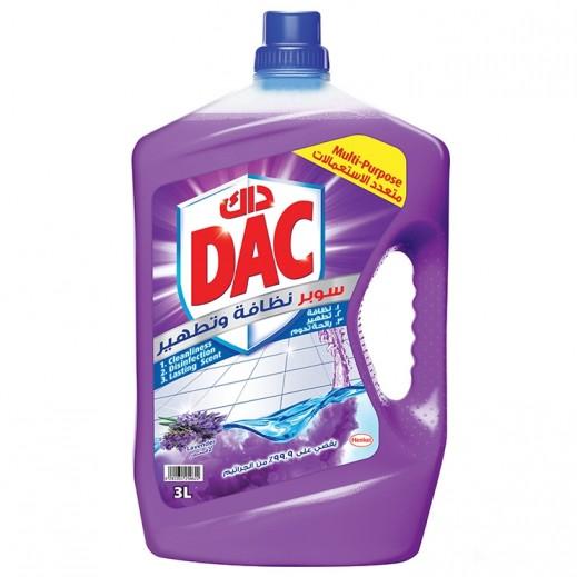 DAC Super Disinfection Liquid Lavender 3 L