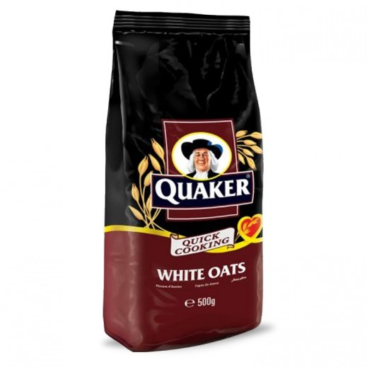 Quaker White Oats Pouch 500 g