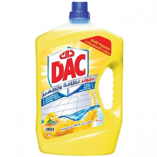 DAC Super Disinfection Liquid Lemon 3 L