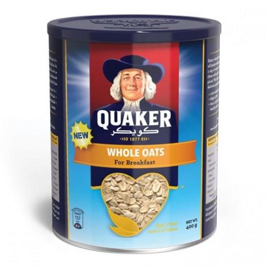 Quaker Whole Oats Tin 400 g