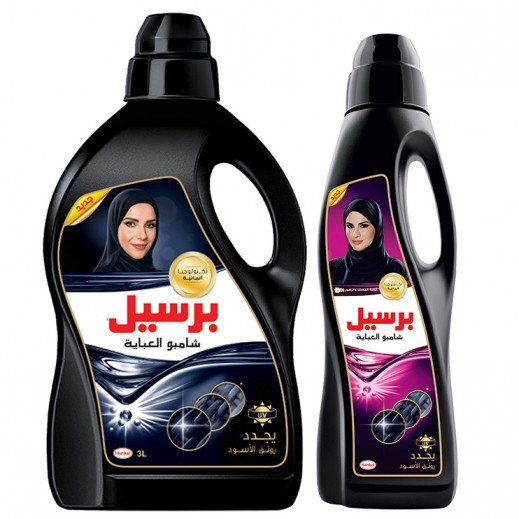 Persil Gel for Black Clothes 3 L + Persil Rose 900 ml Free