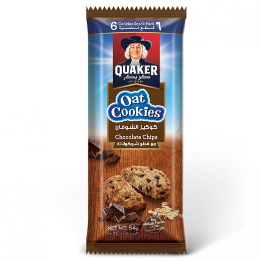 Quaker Chocolate Chip Oat Cookies 54 g