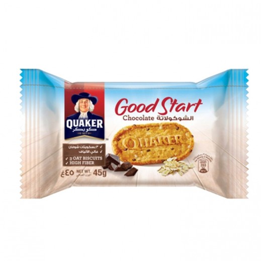 Quaker Good Start Chocolate Biscuit 45 g