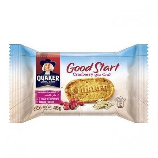 Quaker Good Start Cranberry Biscuit 45 g
