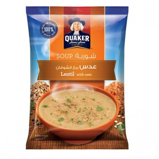 Quaker Lentil Soup with Oats 63 g
