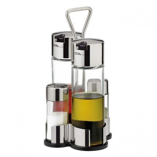 Tescoma Club Oil, Vinegar Salt And Pepper Set