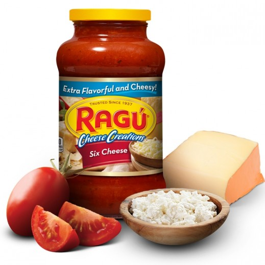 Ragu Six Cheese Sauce 680 g