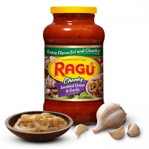 Ragu Chunky Sauteed Onion & Garlic Sauce 680 g