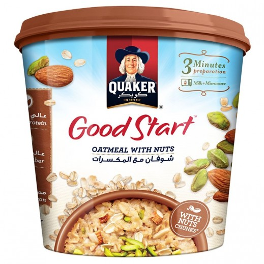 Quaker Fruit & Nuts Instant Oatmeal 50 g