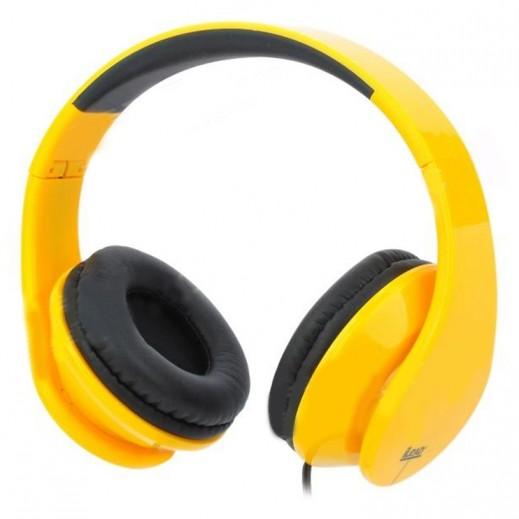 iLead Foldable Headphone - Yellow