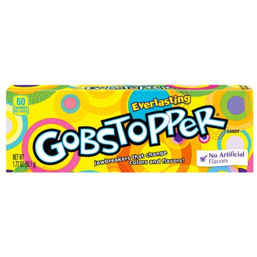 Wonka Gobstopper Candy 50.1 g