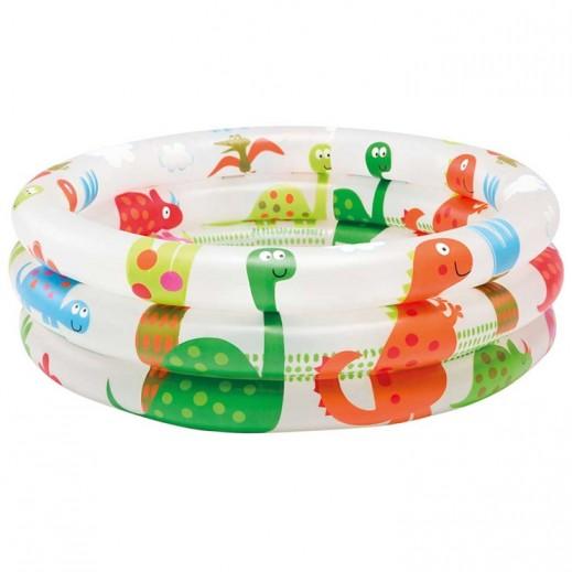 Intex Dinosaur 3 Ring Baby Pool 61 x 22 cm