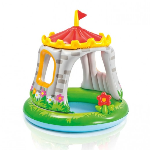 Intex Royal Castle Baby Pool 122 x 122 cm