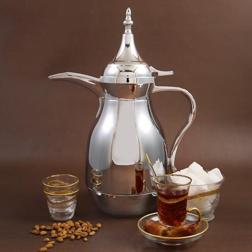 ALLGO Lake Original Arabian pot Silver 1 L
