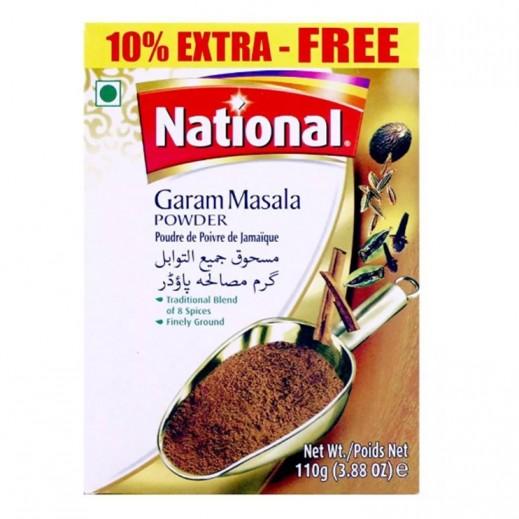 National Garam Masala Powder 100 g +10% Extra Free