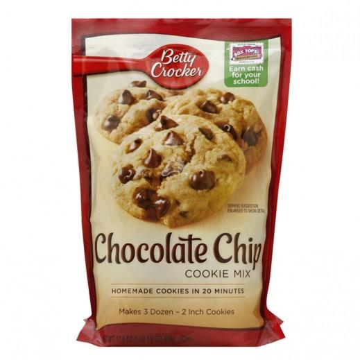 Betty Crocker Chocolate Chip Cookie Mix 496 g
