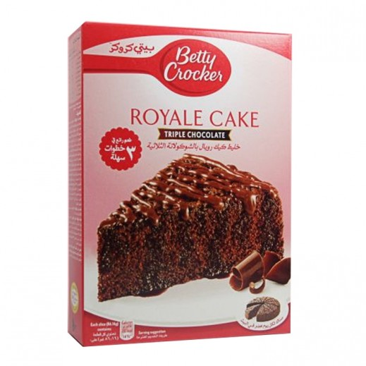Betty Crocker Triple Chocolate Royale Cake Mix 610 g