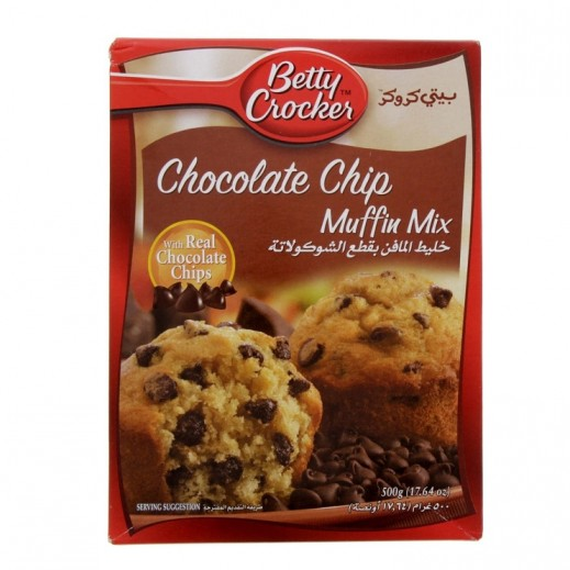 Betty Crocker Chocolate Chip Muffin Mix 500 g