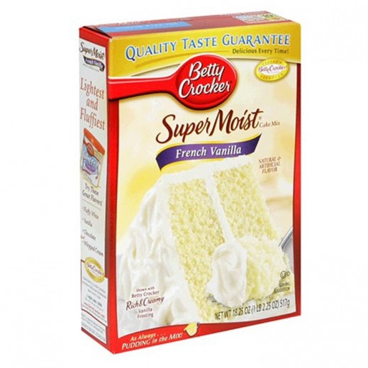 Betty Crocker Super Moist French Vanilla Cake Mix 500 g