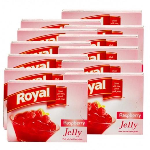 Royal Gelatin Dessert Raspberry 85 g (10+2 Free)