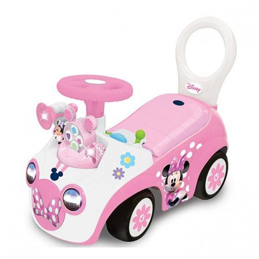 Kiddieland Minnie Mouse Activity Ride On Gears Toy for Girls