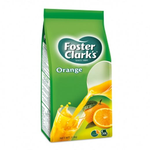 Foster Clark's Orange Powder Drink Bag 2.5 kg