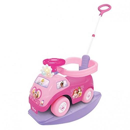 Kiddieland Disney Princess 4 In 1 Light & Sound Activity Ride On