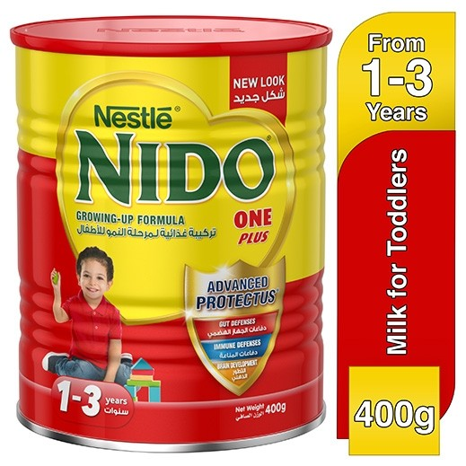 Nido One Plus Fortiprotect Milk Powder Stage (3) 400 g (From1-3 Years)
