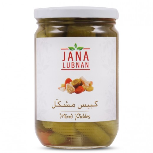 Jana Lubnan Mixed Pickles 660 g