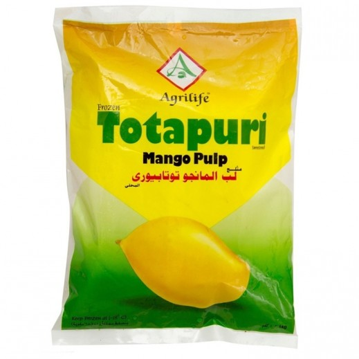Agrilife Frozen Totapuri Mango Pulp 1 kg