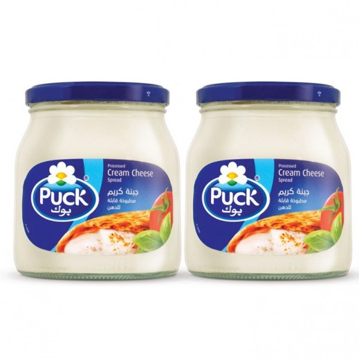 Puck Processed Cream Cheese Spread 2x500g (15% off Prom)