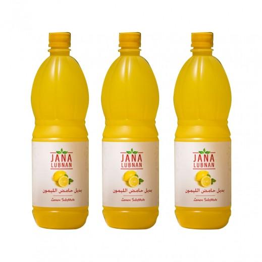 Jana Lubnan Lemon Juice 3x1 L