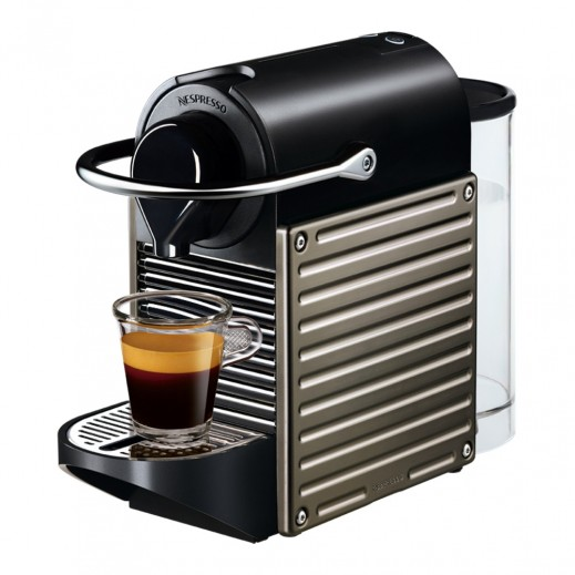Nespresso Pixie Coffee Machine - Titan