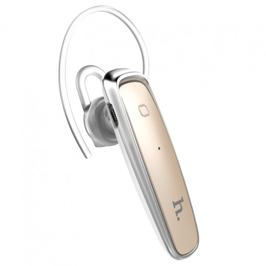 Hoco Mono Wireless Earphone with Microphone - Gold