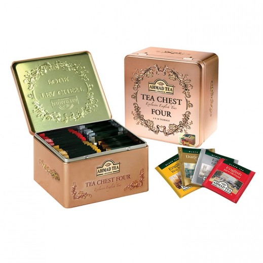 Ahmad Tea Chest English Breakfast Tea 4x10 Tea Bags