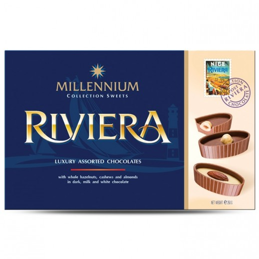 Millennium Riviera Luxury Assorted Chocolate 250 g