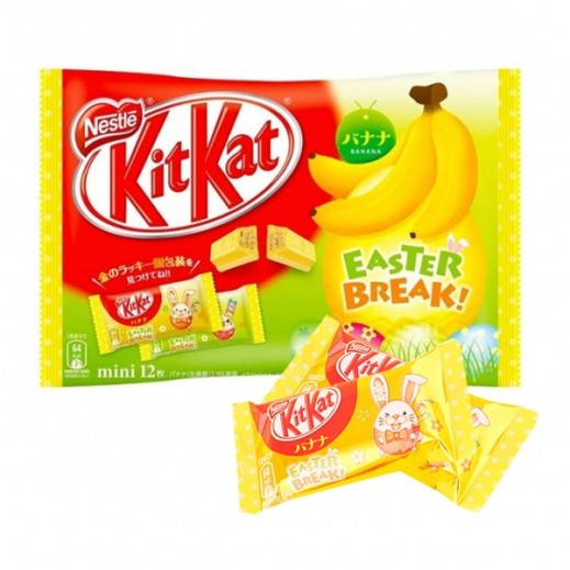 Nestle Kit Kat Banana Easter Break Chocolate 139.2 g