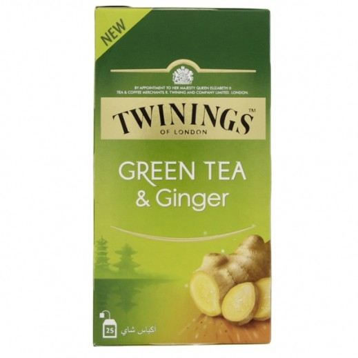Twinings Ginger Green Tea 25 Bags