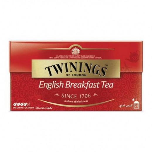 Twinings English Breakfast Tea 25 Bags