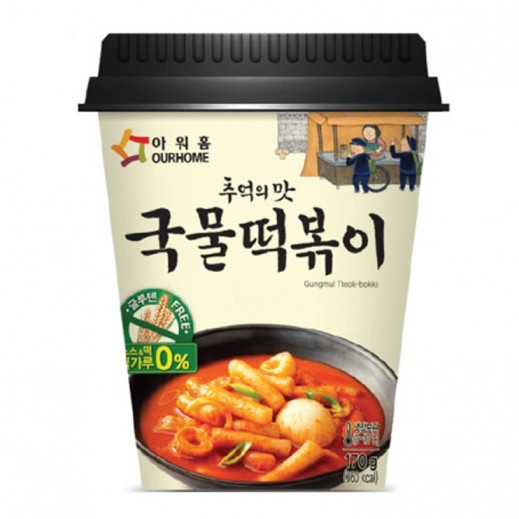 Ourhome Instant Korean Topokki Cup 160 g