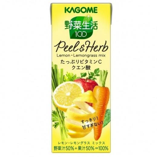 Kagome Lemongrass Mix Juice 200 ml