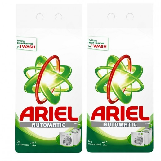Wholesale - Ariel Original Perfume Automatic - Green 2x6 kg