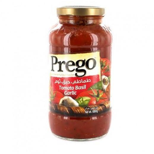 Prego Tomato Basil Garlic Sauce 680 g