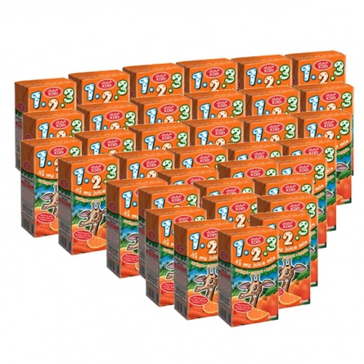 KDD 123 Orange Juice 125 ml (40 pieces)